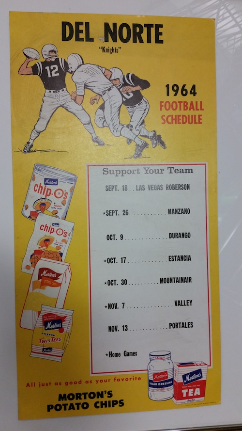 1964 DNHS Football Schedule, AlumKnights