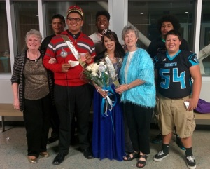 2014 DNHS Homecoming Coronation Recption