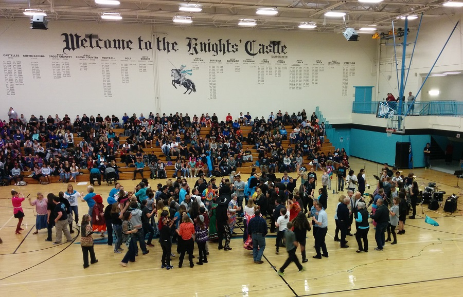 DNHS 50th Assembly Flash Mob