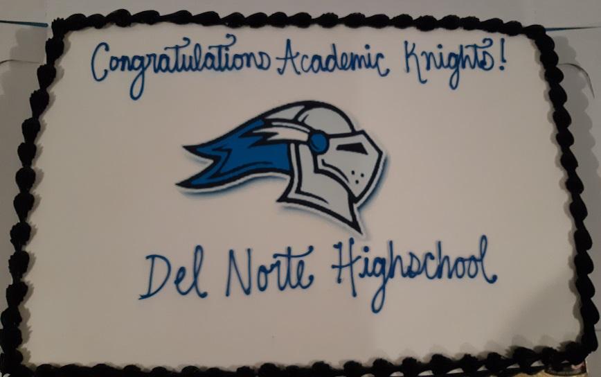 Photo of Academic Knights Cake