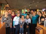 Picture of AlumKnights Applebee's 2017 Fundraiser volunteers.