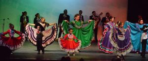 Photo from the 2018 Del Norte Ballet Folklorico Performance