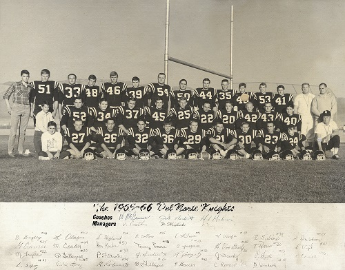 DNHS 65-66 Football Team - AlumKnights