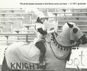 DNHS 74 Football Horse - AlumKnights