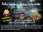 DNHS 2017 Halloween Car Show Flyer