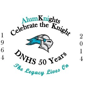 DNHS Alumni Association AlumKnights Celebrate the Knight logo
