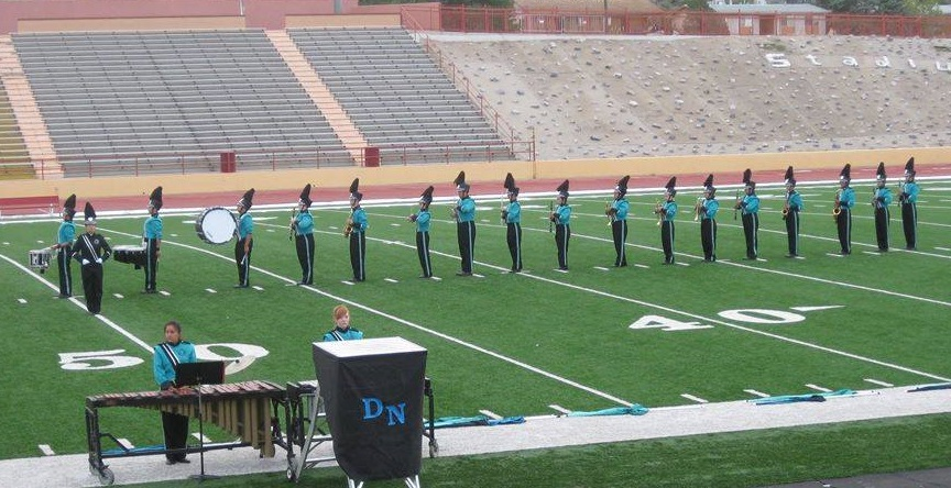 Photo DNHS Band at 2017 POB