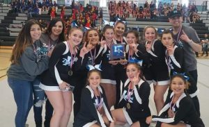 DNHS Cheer Team - 2018 District 2-5A Champions