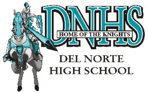 DNHS Home of the Knights logo