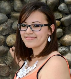 Madelyn Martinez,  A recipient of the 2014 AlumKnights Drawbridge to Success Scholarship