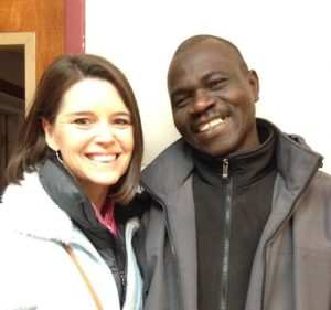 photo of Melinda Forward and Olivier Kamndon